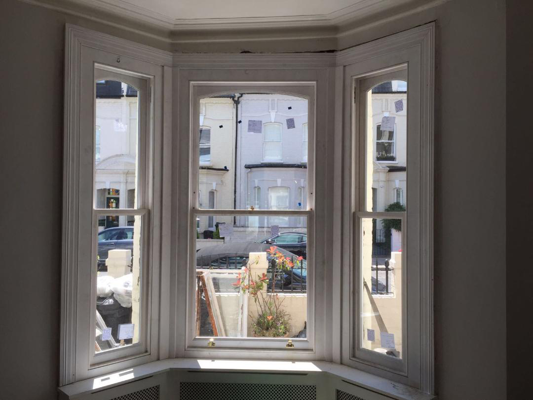 Sash window by A &J Joinery Limited London