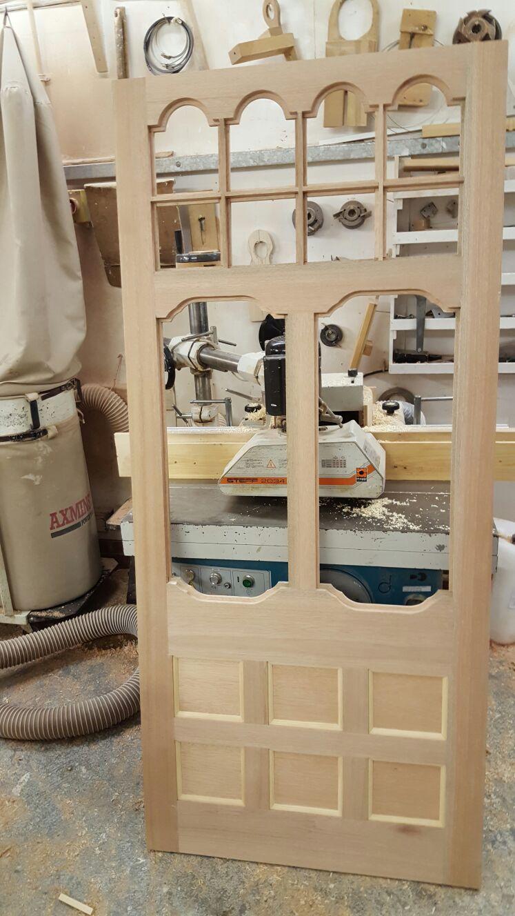 A&J Skeleton in house door